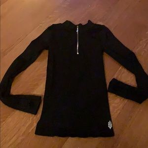 Freepeople Movement XS/S long sleeve top Black